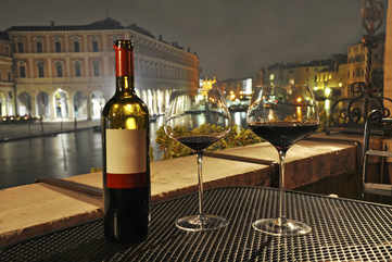 Savour a glass of Venetian wine