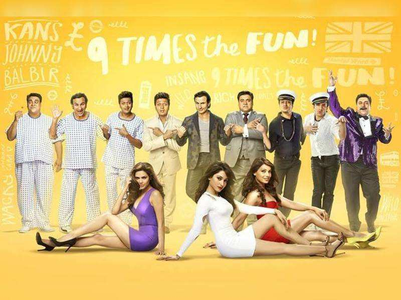 Humshakals BO collections: earns 25.09 cr in two days