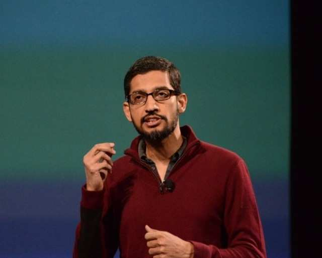 """A new BloombergBusinessweekprofile dubs Sundar Pichai as """"the most powerful man in mobile""""."""