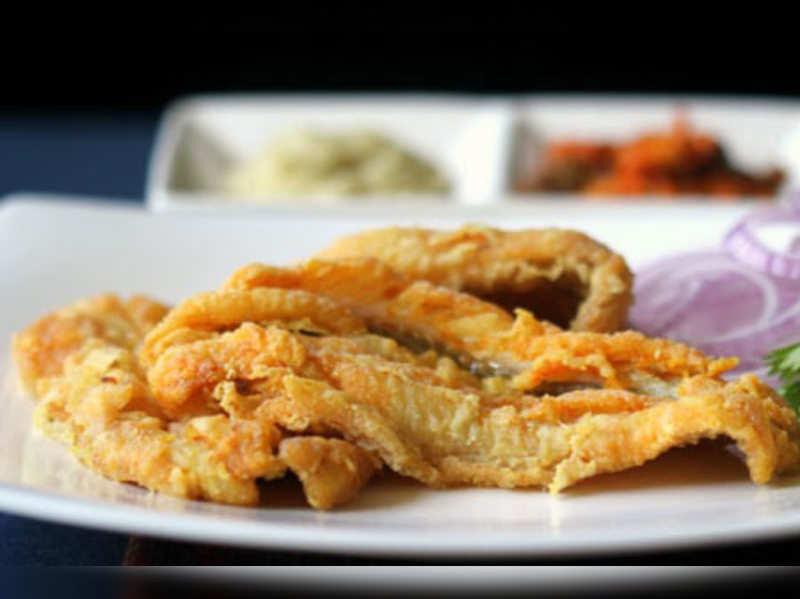 Bombay Duck on a Mumbai plate!