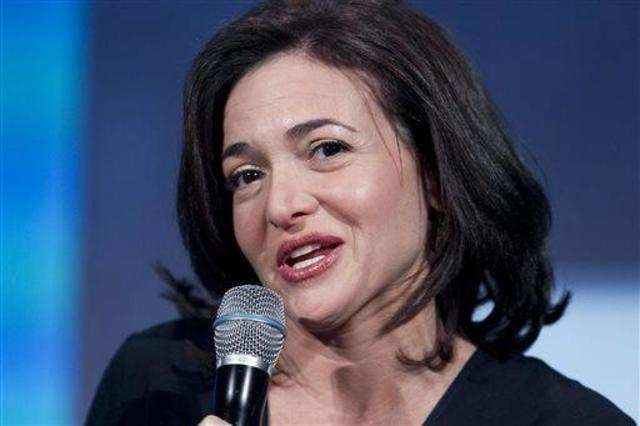 Women suffer from tyranny of low expectations, Facebook COO Sheryl Sandberg says