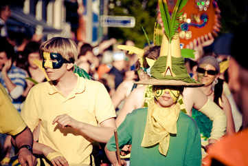 Immerse yourself at the Carnival of Culture