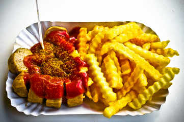 Wolf down a classic currywurst
