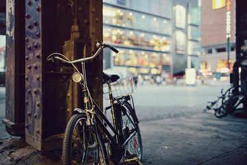Explore the city on a bike