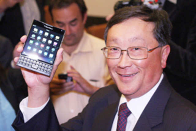 BlackBerry is seemingly promoting the device as a smartphone,phablet, and e-reader all in one.
