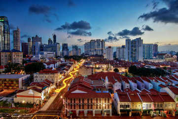 A journey through Singapore