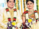 Shritha & Deepak's wedding reception
