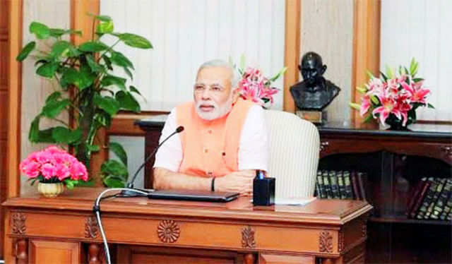 Modi said the initiative intends to keep voters connected with government during the period between elections.