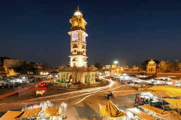 Clock tower market