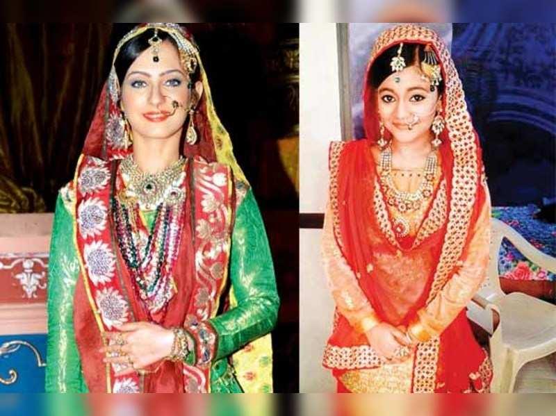 Lavina Tandon and Poorti Agarwal: Two Ruqaiyas on TV