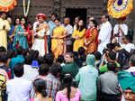 Alok Rajwade and Parna Pethe visit Shaniwar Wada