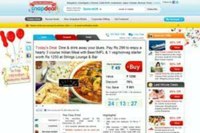 KunalBahl, the founder of India's second-largest online retailerSnapdeal, is suggesting that bigger rivalFlipkartmay be over-valued.