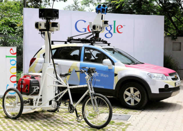 Google had not taken permission from SoI before organising a mapping competition in February-March 2013 in which they asked citizens to map their neighbourhoods, especially details related to hospitals and restaurants.