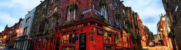 Visit the city on St Patrick's Day