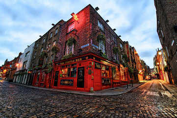 A night out at Temple Bar