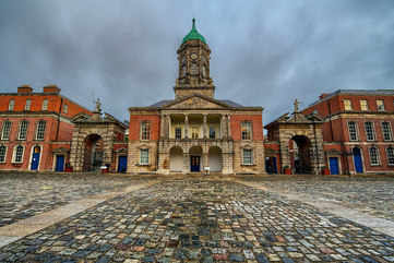 A brush with royalty at Dublin Castle