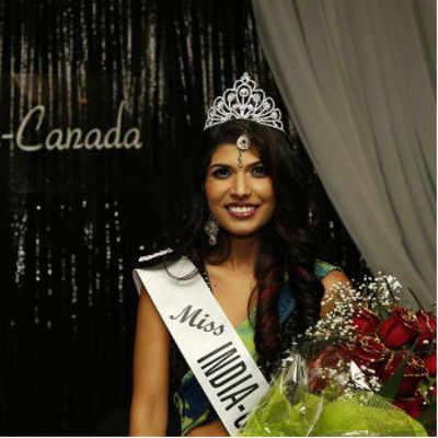 Mississauga beauty Annu Gaidhu crowned Miss India Canada