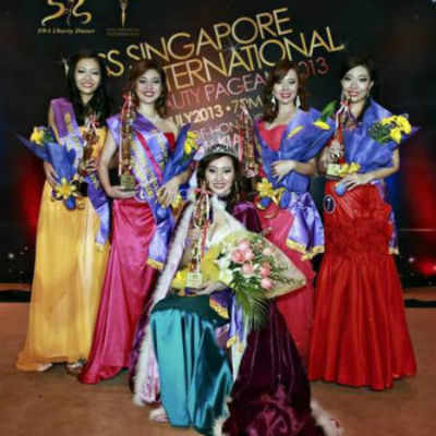 Vanessa Sim wins the Miss Singapore International title