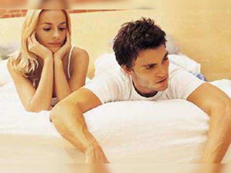 Why are men losing interest in sex? - Times of India