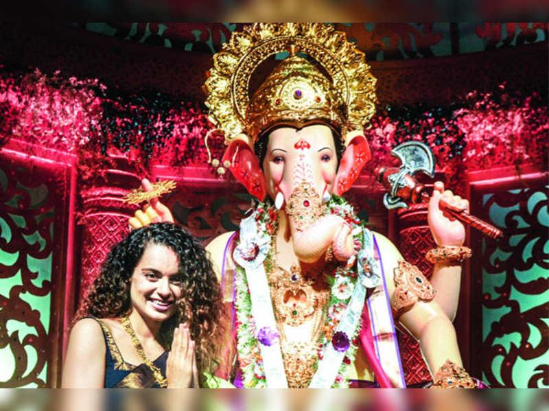 Kangana Ranaut: I love Mumbai even more during Ganpati