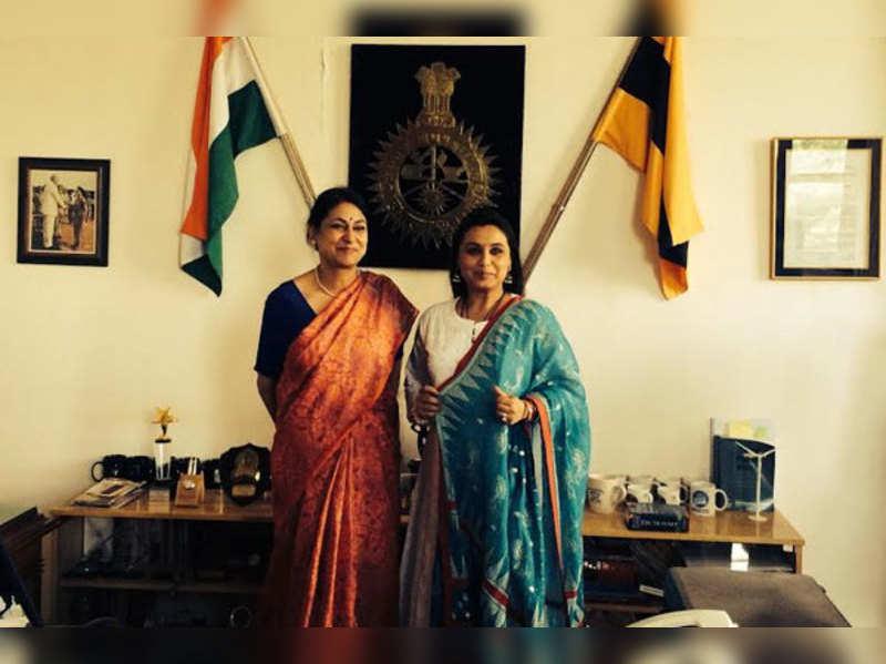 Rani Mukerji meets real Mardaani who inspired her