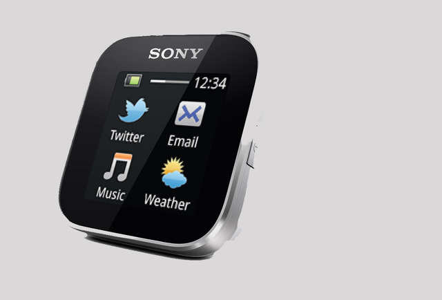 Sony's smartwatch maintains a square design that's nearly identical to its previously released smartwatches.