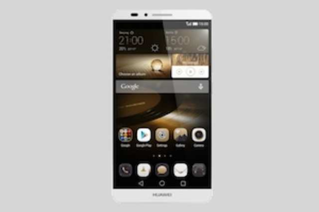 The Huawei Ascend Mate 7 is another huge handset from the Chinese firm.