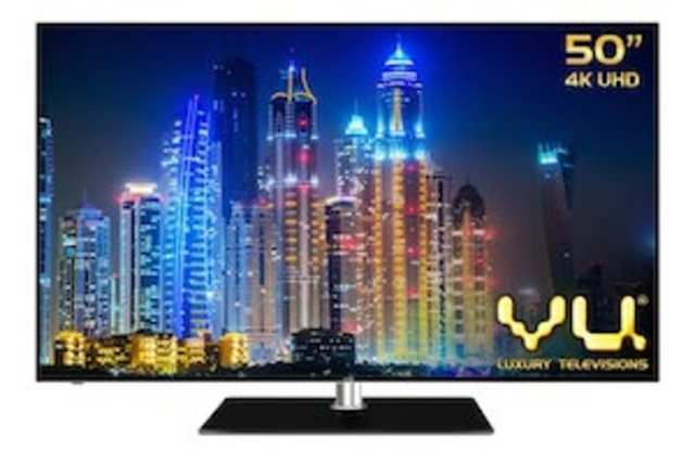 Vu claims that its TVs feature the world's first quad-core graphics engine.
