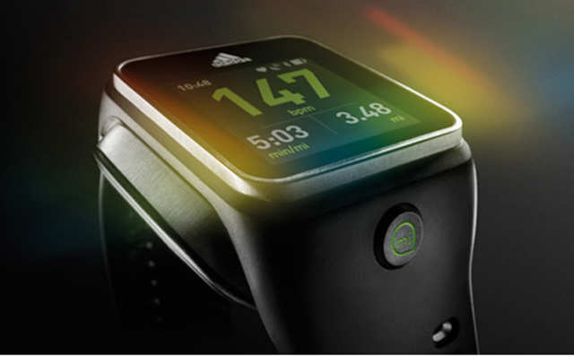 Adidas has launched 'miCoach Smart Run', a smartwatch priced at Rs 24,999, which will allow users to monitor heart rate and play music.