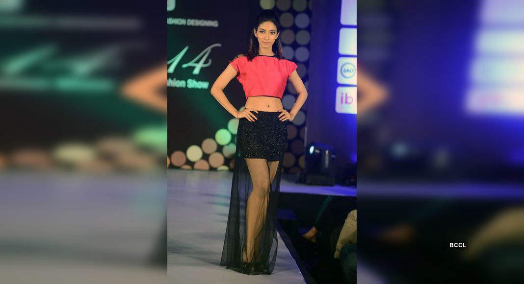 Amala Walks The Ramp During International Institute Of Fashion Designing S Annual Graduation Fashion Show Organised At Hyatt Regency In Chennai Photogallery