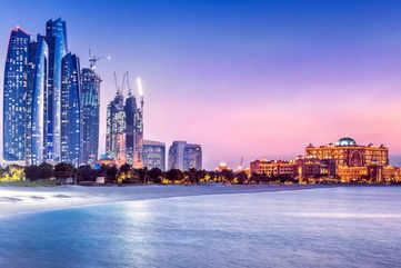 Admire the city's skyline