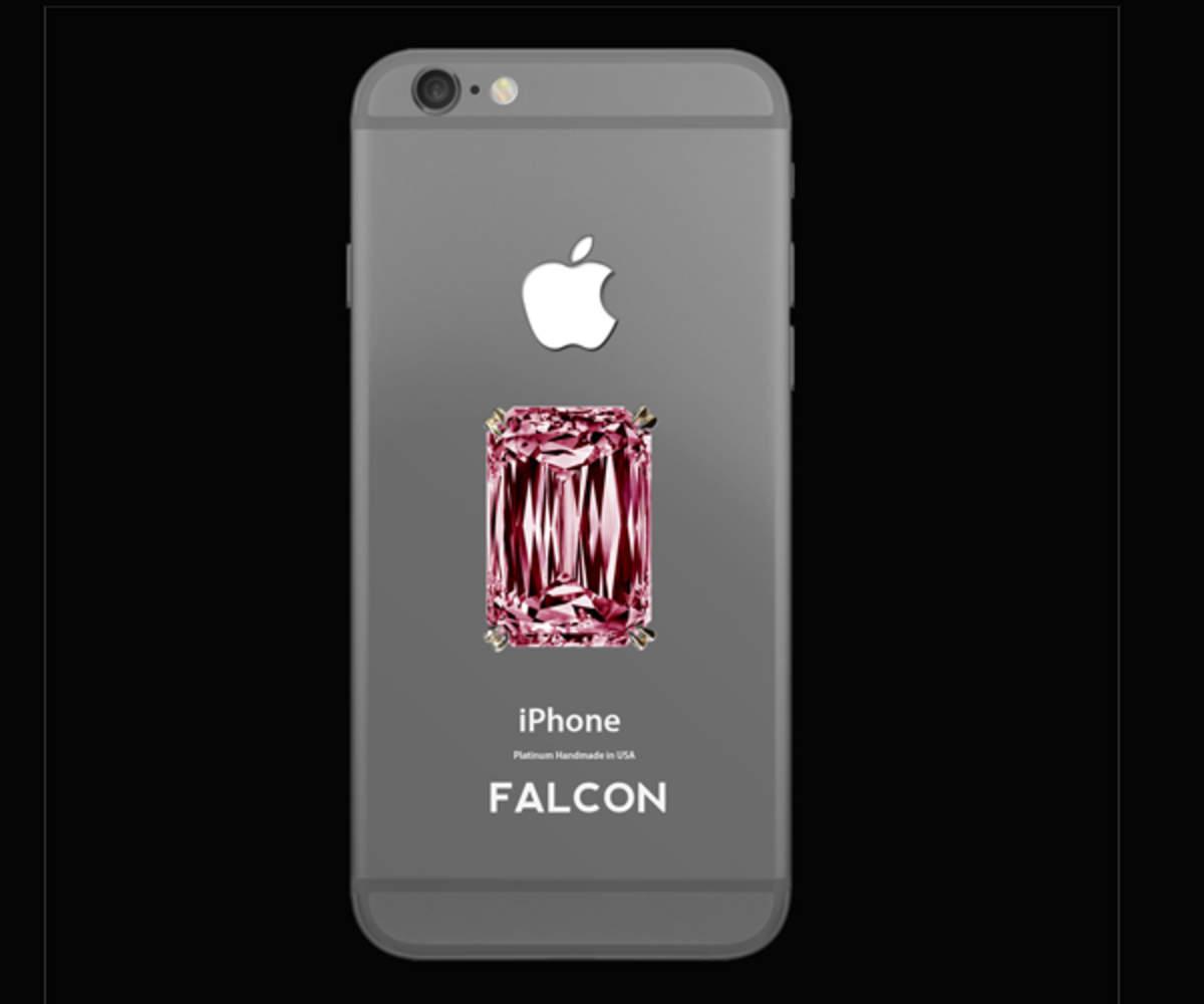 Falcon Supernova Iphone 6 Pink Diamond 48 5 Million Gadgets Now