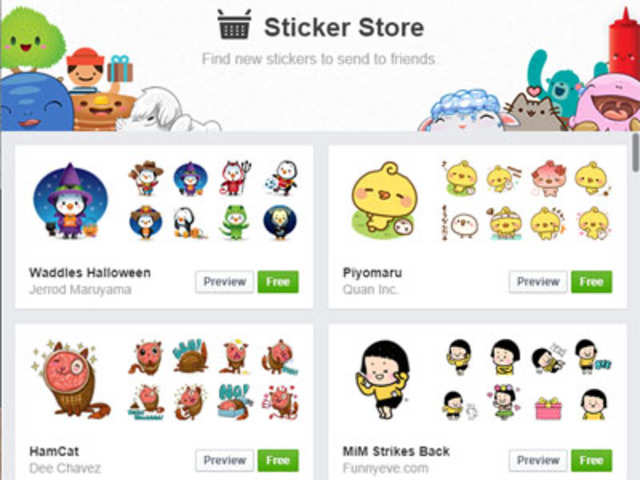 The popular Facebook stickers can now be used to comment on the Facebook  posts and photos