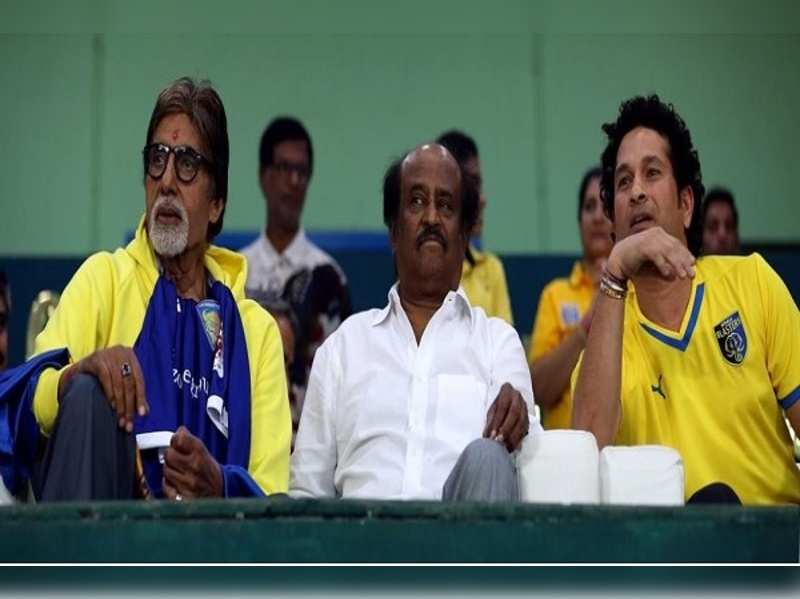 What did Rajinikanth and Amitabh Bachchan gossip about?