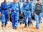 Drone helps police scan Trilokpuri locality