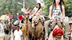 Annual Pushkar fair attracts tourists in Rajasthan