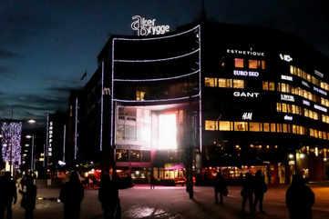 Aker Brygge, a shopper's paradise
