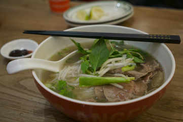 Pho, a traditional Vietnamese delicacy