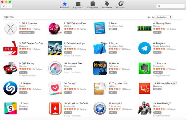 app store free games mac