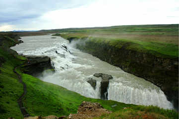 Gulfoss Fall