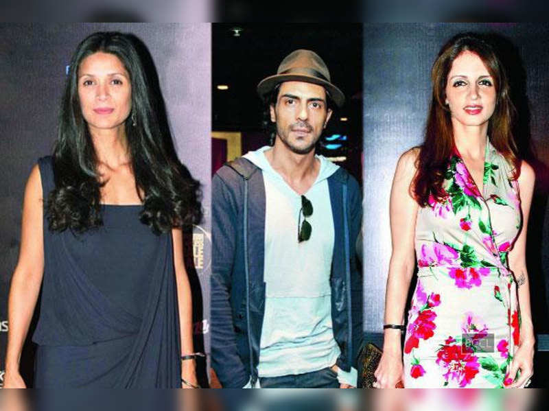 Is Arjun Rampal to blame for the Mehr-Sussanne friendship taking a severe beating?
