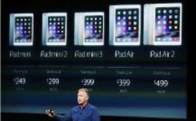 Apple's latest tablets, iPad Air 2 and iPad mini 3, are finally available for pre-order in the Indian market.