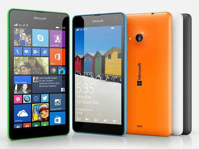 Lumia 535 sports a 5-inchqHD(960x540p,220ppi)IPSLCD display with Corning Gorilla Glass 3.
