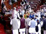Rahul leads Congress protest outside Parliament