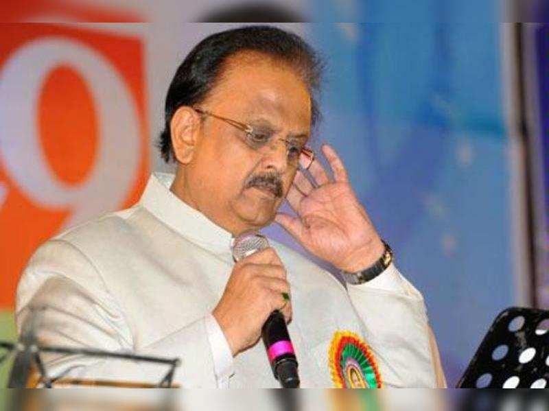 SP Balu pays homage to Nedunuri Krishnamurthy