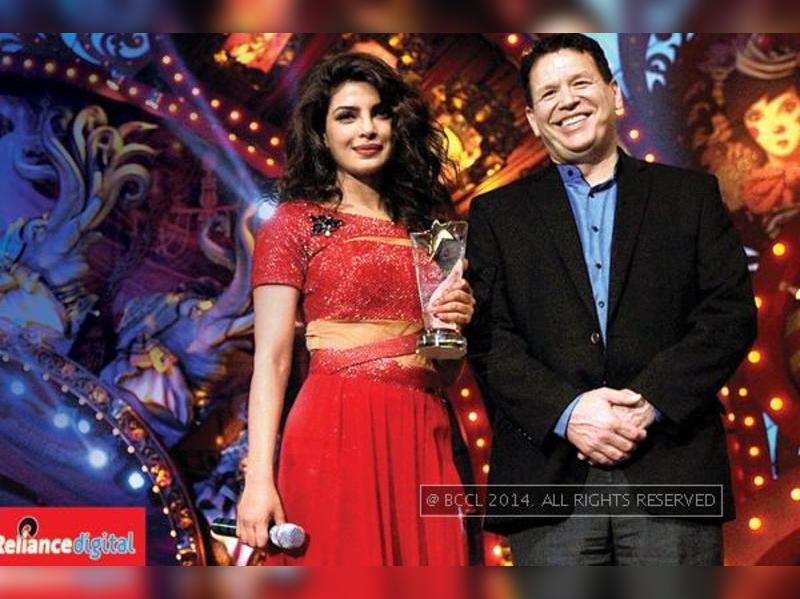Priyanka Chopra conferred with the title of Technolicious Talent of the Year at  Got Talent World Stage Live in Mumbai