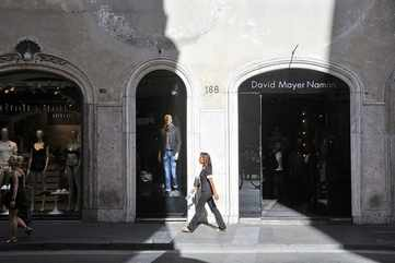 Shopping at Via del Corso