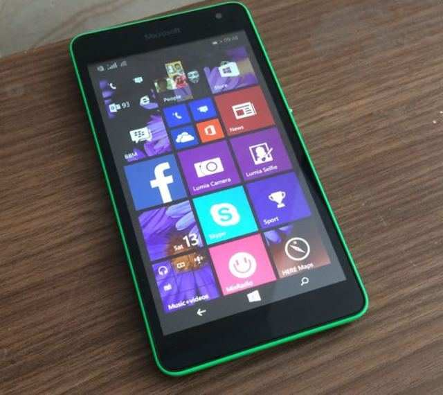 Lumia 535 review: The 'first' Microsoft Lumia | Gadgets Now