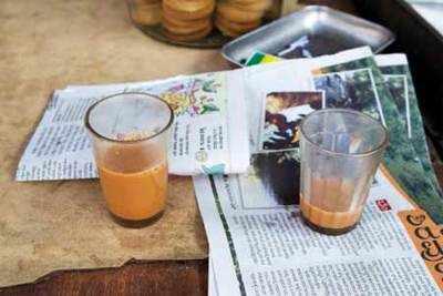 Significance of kadak, masala chai