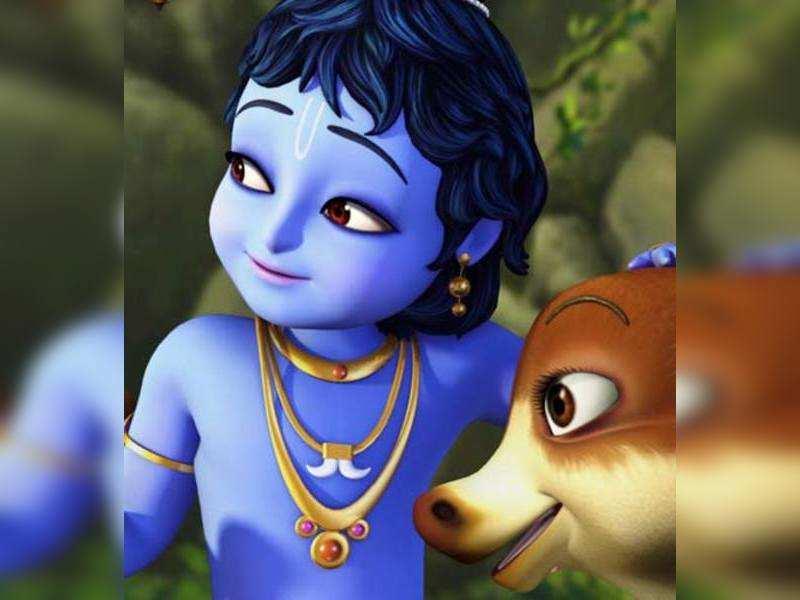 A still from 'Little Krishna'